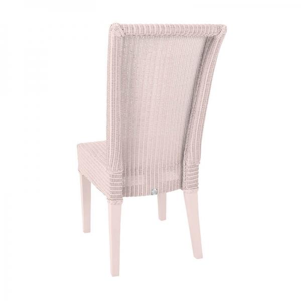 Chaise rose tressée - Joséphine - 6