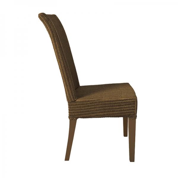 Chaise en loom tressé cuivre - Joséphine - 20