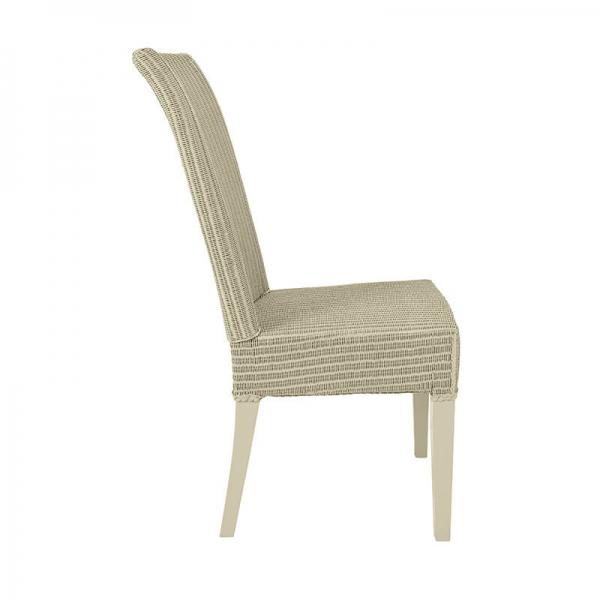 Chaise en loom tressé pistache - Joséphine - 26