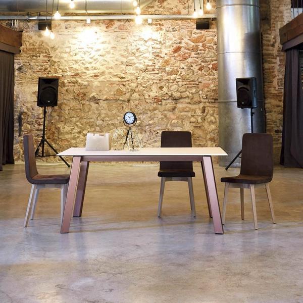 Table moderne en Dekton - Charlotte - 1