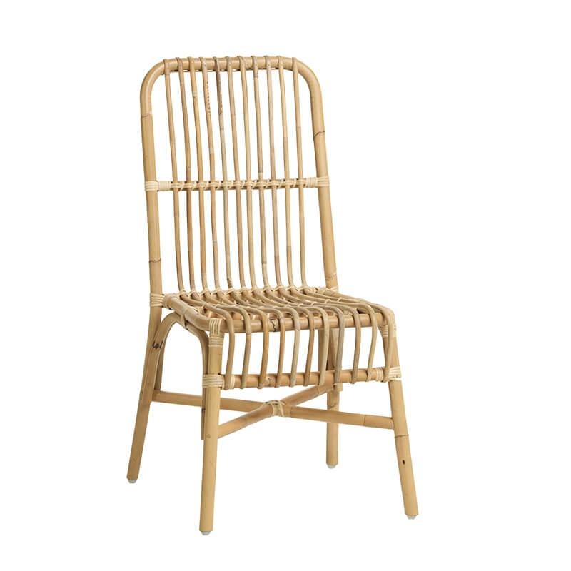 chaise ethnique en rotin naturel val rie 4. Black Bedroom Furniture Sets. Home Design Ideas