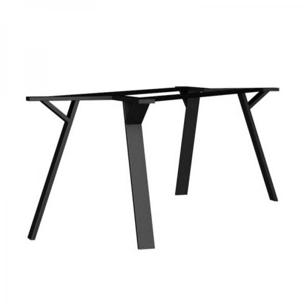 Piétement de table design en métal made in France - Wild - 2