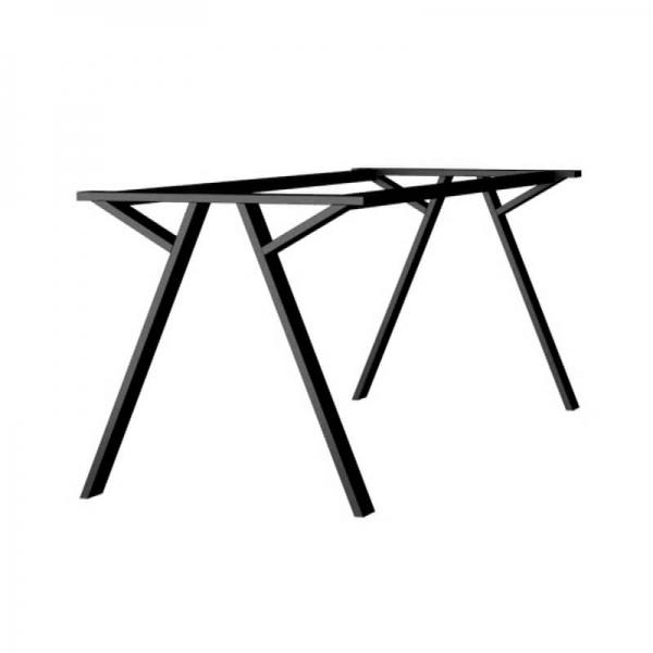 Piétement de table en métal design fabriqué en France - Wasabi - 1