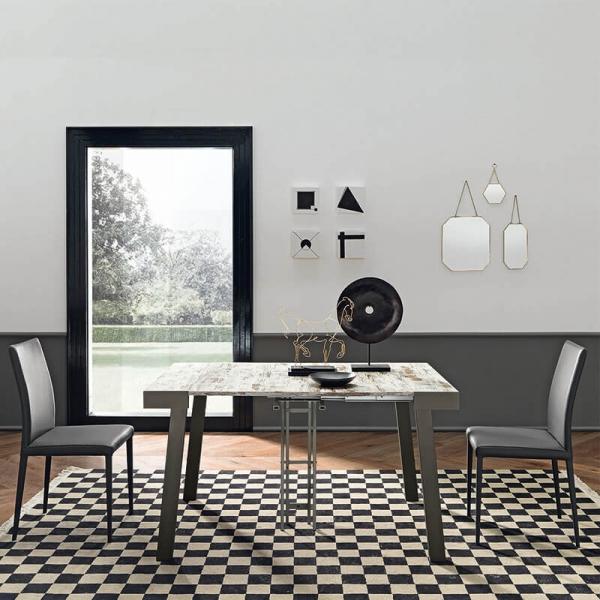 Table console extensible italienne en mélaminé - Astoria - 3