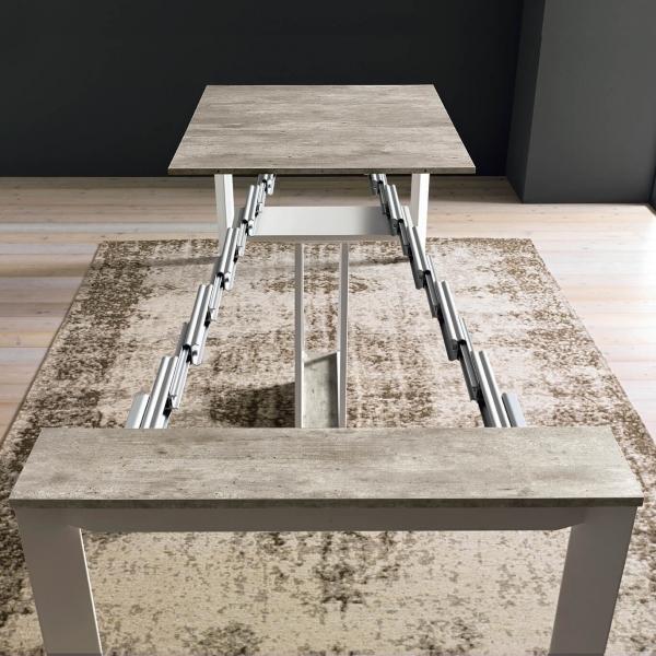 Console avec allonges transformable en table - Trek - 9