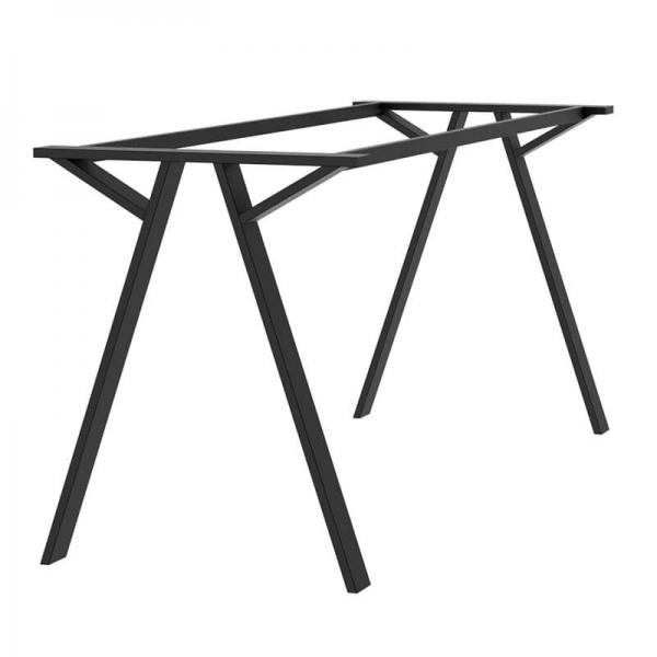 Piétement de table en métal design made in France - Wasabi - 2