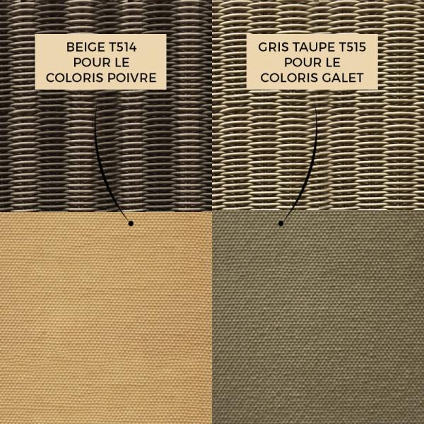 Coloris de coussin chaise Isabelle - 9