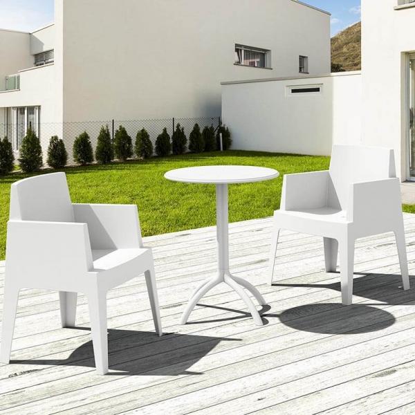 Fauteuil design de jardin en polypropylène Box 26 - 14