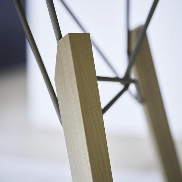 Table design rectangulaire en placage bois - Gravity Mobitec® - 4