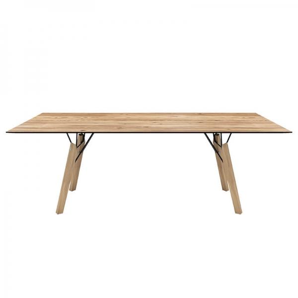 Table rectangulaire en placage bois - Gravity Mobitec® - 5