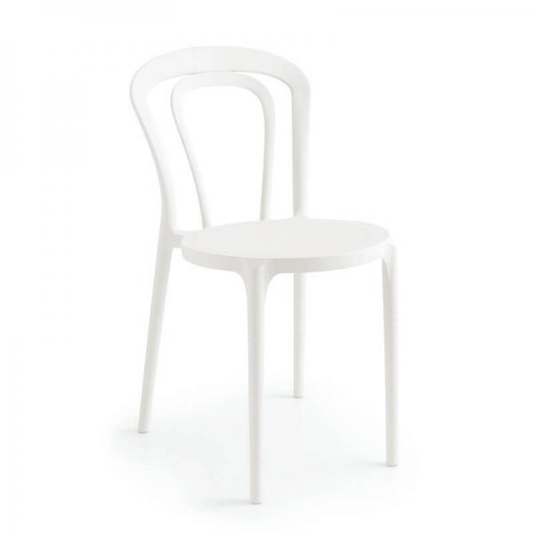 Chaise style bistrot blanche - Caffè Connubia® - 7