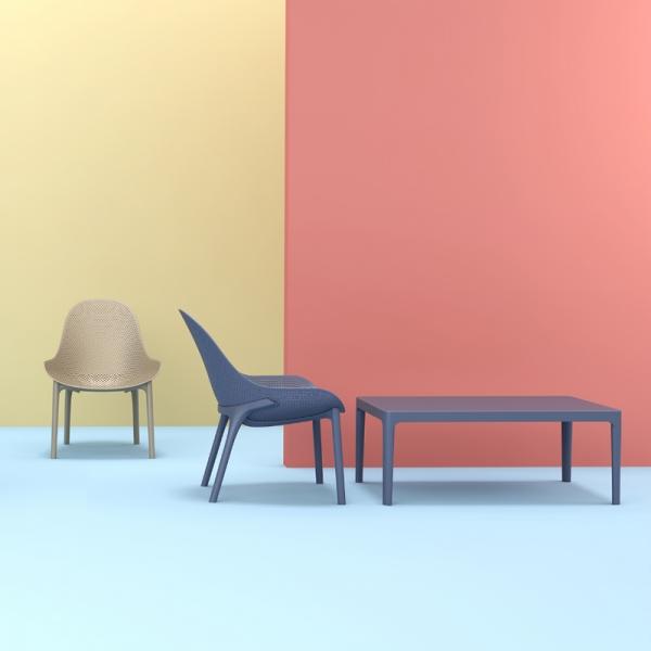 table basse rectangulaire pour salon Sky 104 - 2