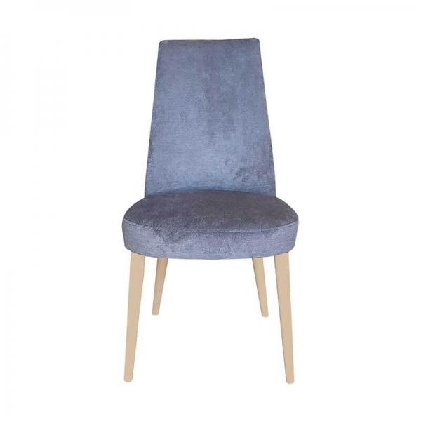 Chaise confortable en bois et tissu - Brisa - 5