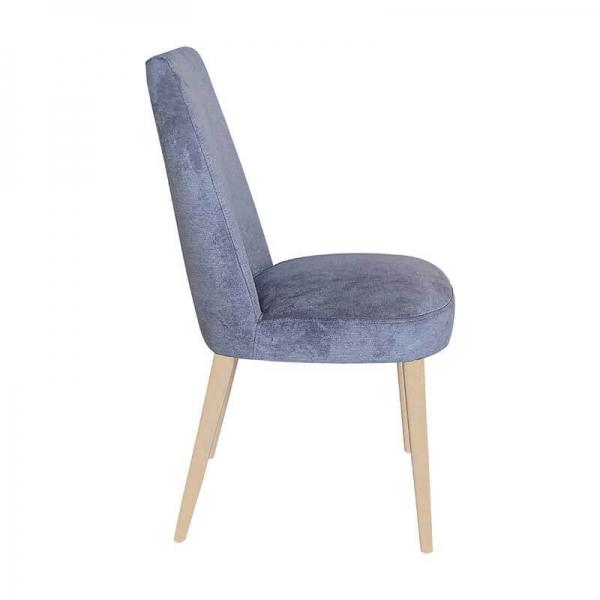 Chaise confortable en bois et tissu - Brisa - 6