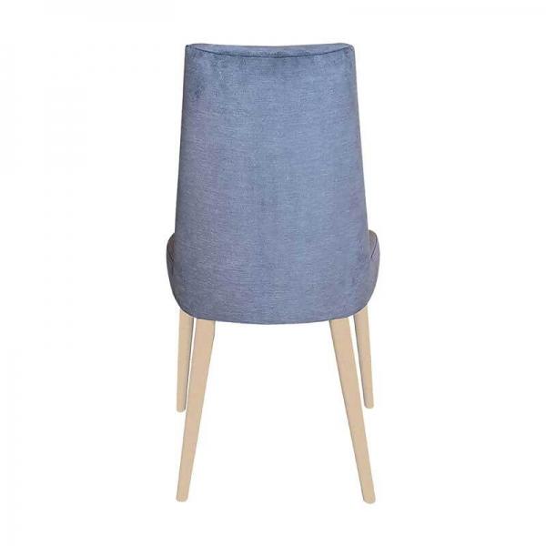 Chaise confortable en bois et tissu - Brisa - 7
