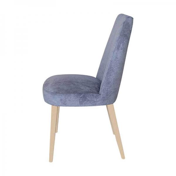 Chaise confortable en bois et tissu - Brisa - 8