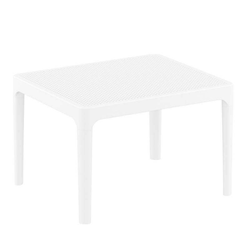 Table Basse De Jardin Rectangulaire En Resine Sky 4 Pieds Com