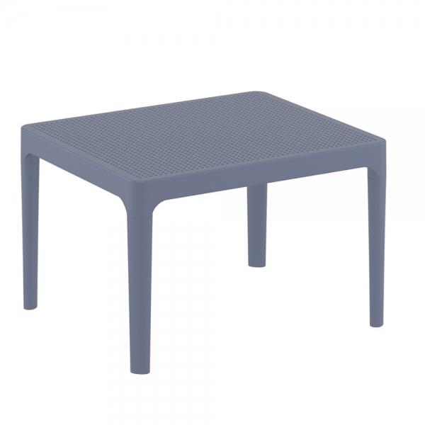 petite table basse grise pour terrasse Sky 109 - 16