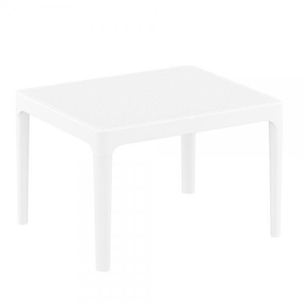 petite table basse blanche de salon Sky 109 - 12