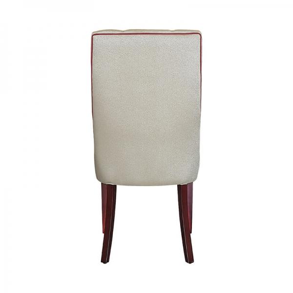 Chaise en tissu rembourrée matelassée - Carol - 3