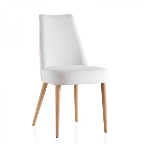 Chaise confortable en bois et tissu - Brisa - 3