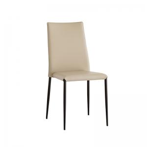 Chaise italienne contemporaine rembourrée - Trix