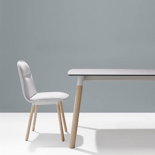 Table en céramique et bois - Köln marque Mobliberica - 4