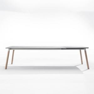 Table extensible en céramique et bois - Köln Mobliberica