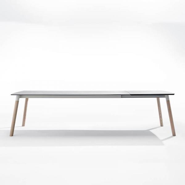 Table extensible en céramique et bois - Köln Mobliberica - 1
