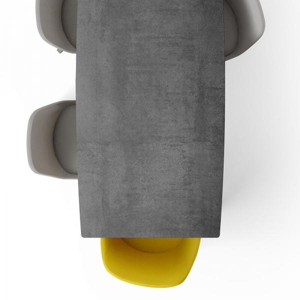 Table rectangulaire en céramique Infiné - 5