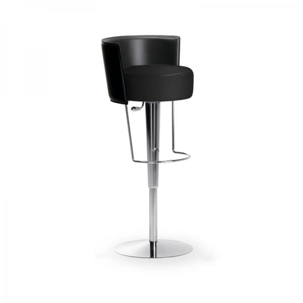 Tabouret réglable design Bongo Midj en synthétique noir - Bongo Midj® - 2