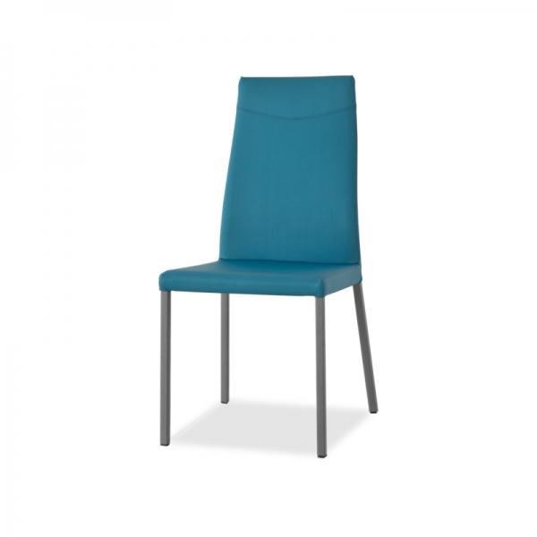 chaise de salle à manger en cuir - 3