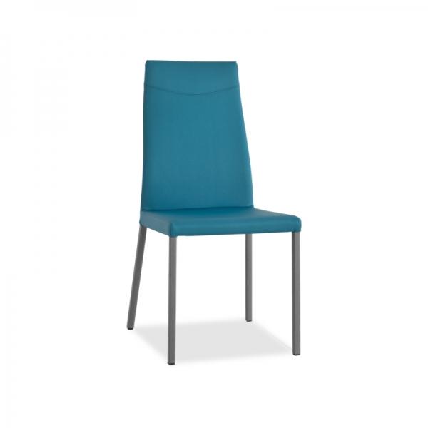 chaise contemporaine en cuir - 2