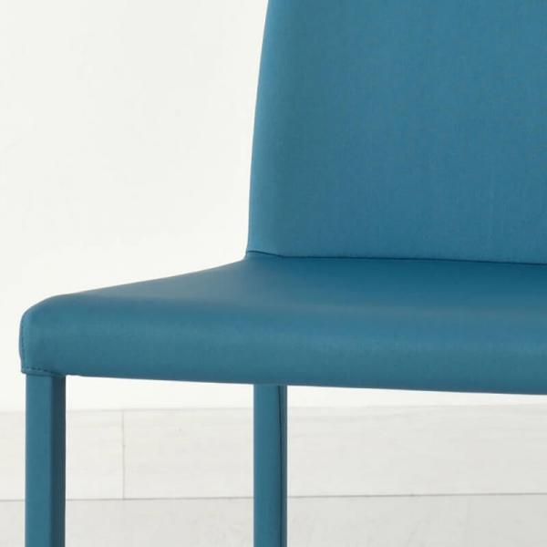 chaise en cuir italienne - 4