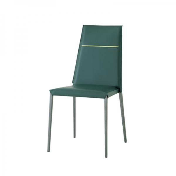 chaise en croûte de cuir design italien - 3