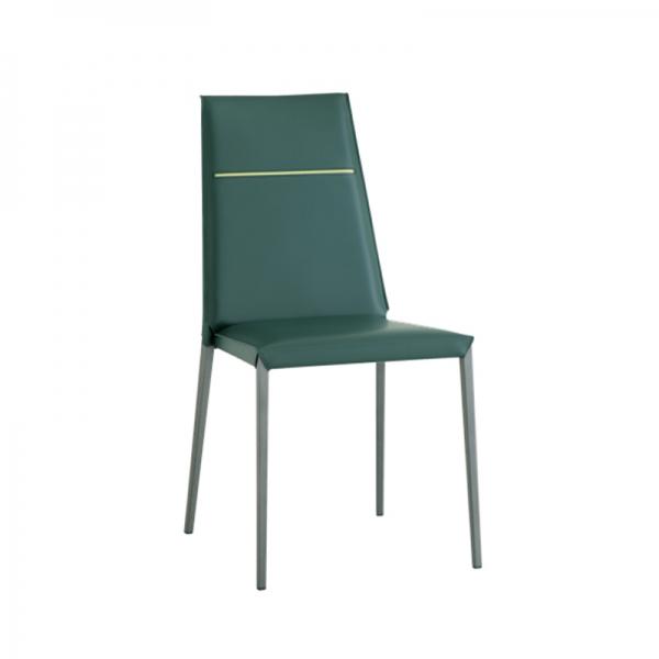 chaise en croûte de cuir fabrication italienne - 2