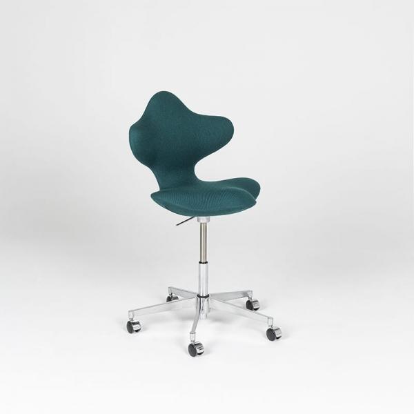 Chaise de bureau en tissu et métal - Active Varier® - 2