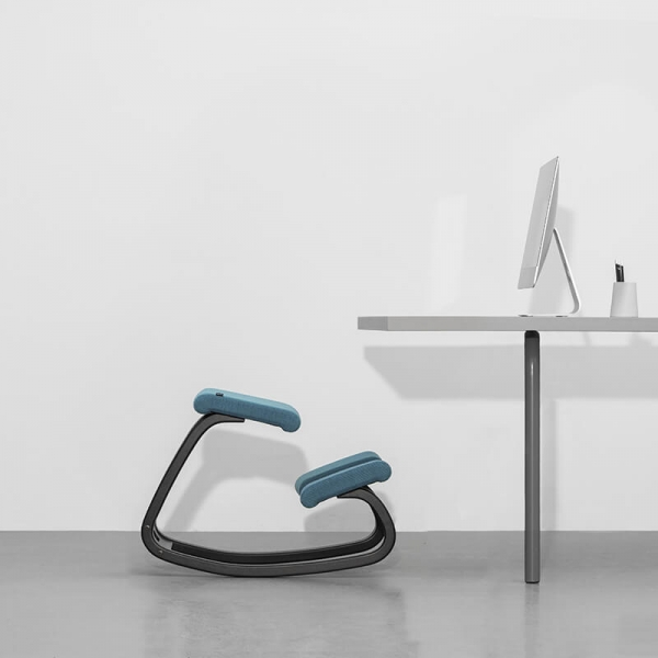 Chaise de bureau ergonomique coloris bleu - Variable Varier® - 11