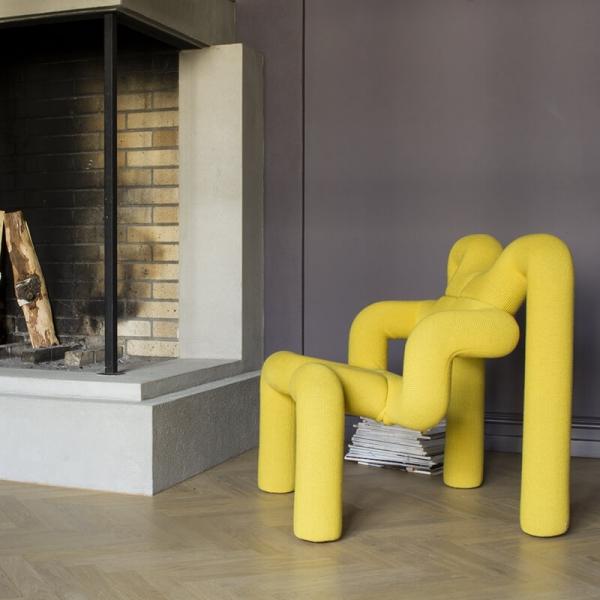 Fauteuil ergonomique design jaune - Ekstrem Varier® - 4