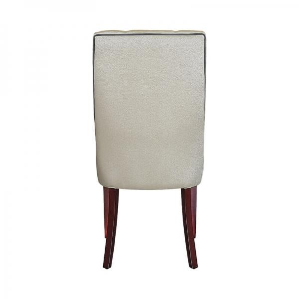 Chaise en tissu rembourrée matelassée - Carol - 7