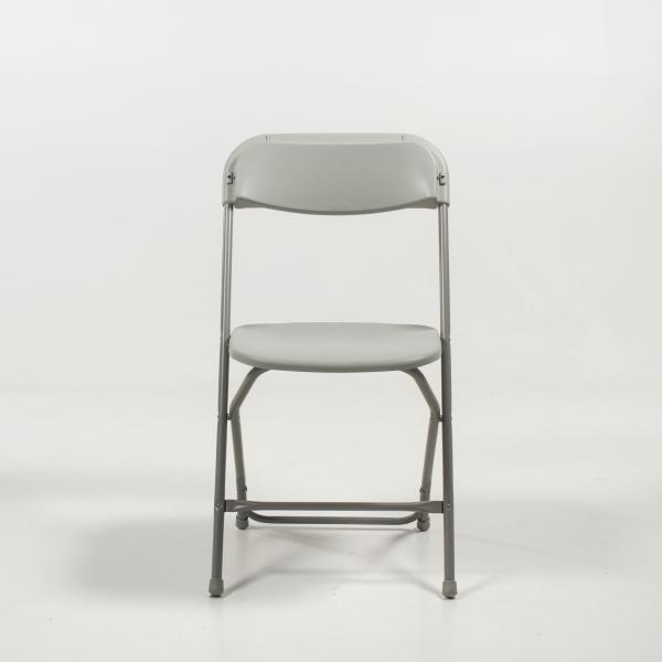 Chaise pliante en plastique et métal - Alex 7 - 7