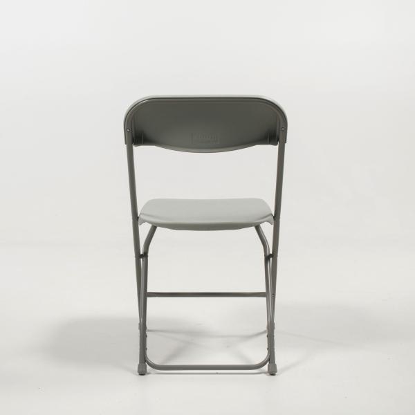 Chaise pliante en plastique et métal - Alex 7  - 8