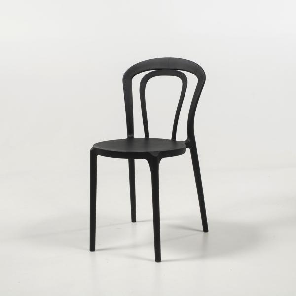 chaise de jardin polypropylène noir - Caffè - 11