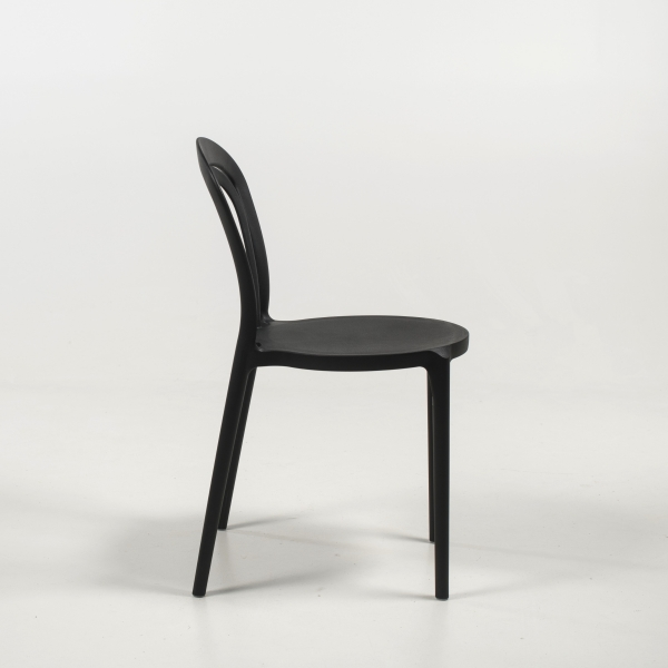 chaise de terrasse en noire - Caffè - 13