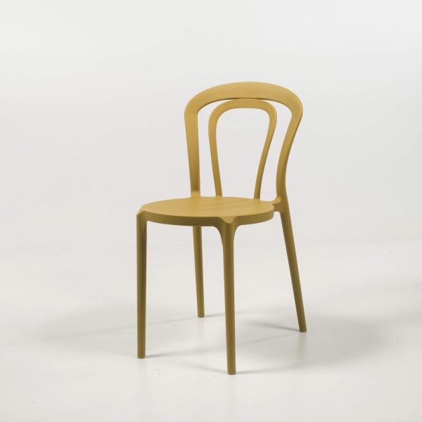 chaise de jardin polypropylène moutarde - Caffè - 3