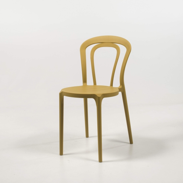 Chaise bistrot jaune - Caffè Connubia® - 3