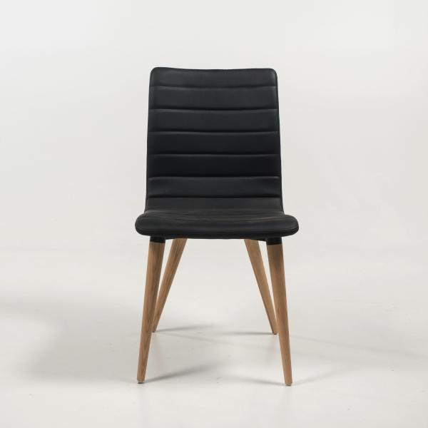 Chaise scandinave pieds bois naturel - Doris - 7