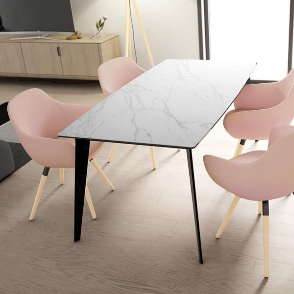 Table avec rallonge en céramique Infiné - 3