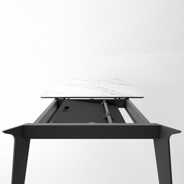 Table extensible en céramique pour la salle à manger Infiné - 4