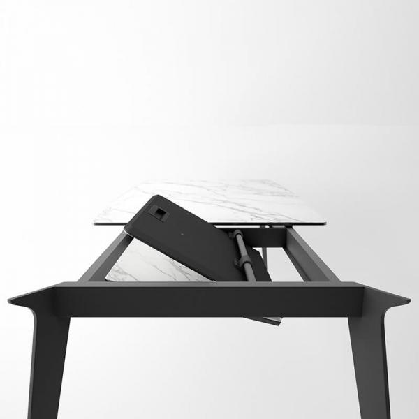 Table extensible avec allonge en portefeuille Infiné - 5